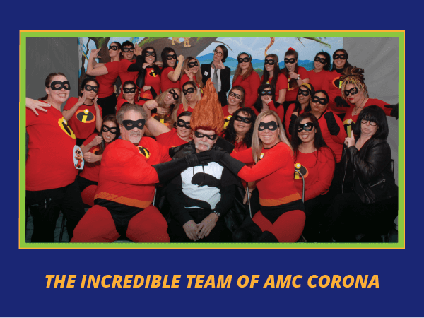 amc corona incredible team